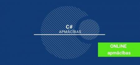 C# <br> apmācības