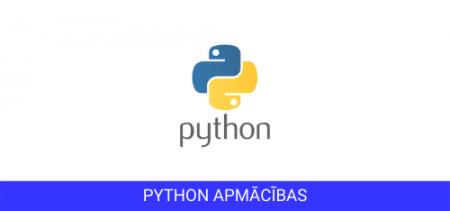 Python apmācības
