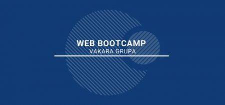 WEB izstrādes <br> BOOTCAMP