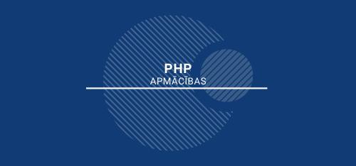 PHP apmācības