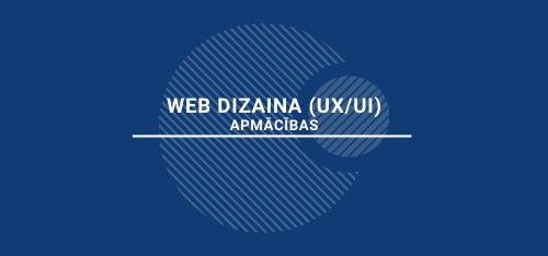 WEB dizaina (UX/UI) apmācības